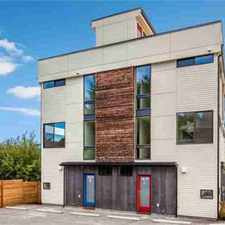 Rental info for 3829 23rd Ave W #B Seattle Three BR, Fantastic modern new 6-home