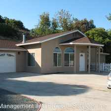Rental info for 5157 Sweetwater Road in the Chula Vista area