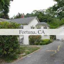 Rental info for 15th St, Fortuna, CA 95540