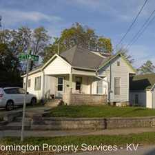 Rental info for 401 E 12th St in the Bloomington area
