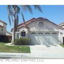 Rental info for 15570 MADALENA CR in the Fontana area