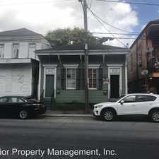Rental info for 4535 Tchoupitoulas St. in the West Riverside area