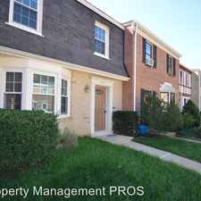 Rental info for 9631 Nonquitt Drive in the Fairfax area