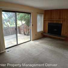 Rental info for 8340 W. 90th Avenue in the Arvada area