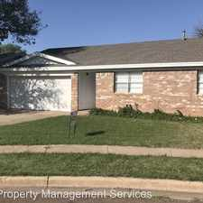 Rental info for 5804 15th St in the Lubbock area