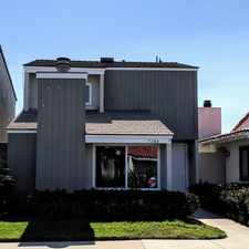 Rental info for 7100 Island Village Drive in the Long Beach area