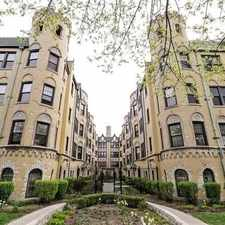 Rental info for 4215 North Kedvale Avenue in the Old Irving Park area