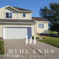 Rental info for 1406 Beaufort Drive in the Papillion area