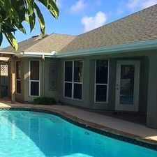 Rental info for 3 Bedroom 2 Bath With Saline Pool! in the Padre Island area