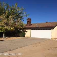 Rental info for 10627 Mohawk Rd in the Apple Valley area