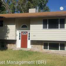 Rental info for 731 West 650 North in the Clinton area