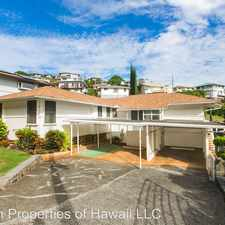 Rental info for 2033 Oswald Street in the Manoa area