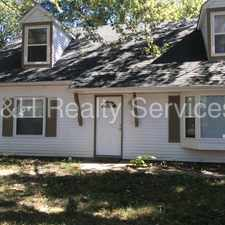 Rental info for Nice Cape Cod with Fenced back yard Located in Pike Township in the Indianapolis area
