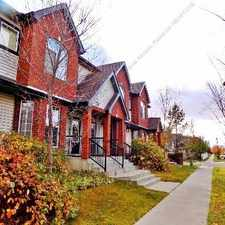 Rental info for *** HALF MONTH RENT FREE - 3 BDRM, 2.5 BATH TOWNHOUSE IN TERWILLEGAR TOWNE *** in the Terwillegar South area
