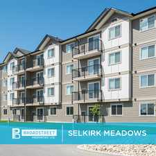 Rental info for Pet Friendly 2 Bedroom 2 Bathroom + Den Apartment with In-suite Laundry for Rent in Selkirk in the Selkirk area