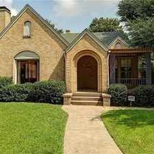 Rental info for Pet Friendly 3+2 House In Dallas in the M Streets area