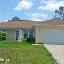 Rental info for 2712 33rd St W in the Lehigh Acres area