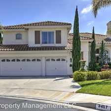 Rental info for 3407 Calle Sin Rival in the San Clemente area