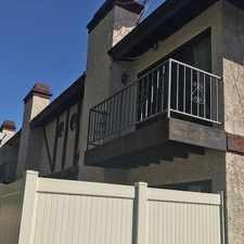Rental info for Charming End Unit Townhome In A Wonderful Gated... in the Los Angeles area