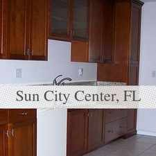 Rental info for Spacious 2 Bedroom, 2 Bath in the Sun City Center area
