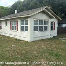 Rental info for 1628 S. GROVE ST in the Eustis area