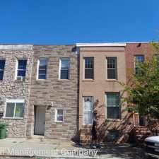 Rental info for 1125 S. Carey St. in the Washington Village area