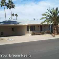 Rental info for 15224 N Agua Fria Drive