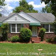 Rental info for 722 Hickman Rd in the North Augusta area