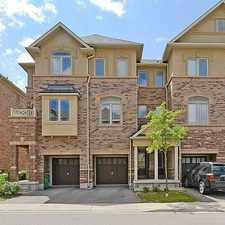 Rental info for 6625 Falconer Drive #8 in the Brampton area
