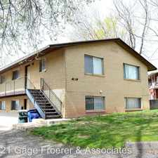 Rental info for 3071 Eccles Ave.