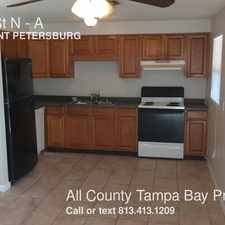 Rental info for 4910 68th St N in the St. Petersburg area