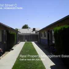 Rental info for 810 31st Street C in the Downtown area