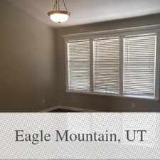 Rental info for 500 Off Offer Beautiful Home In Eagle Mountain