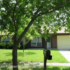 Rental info for 5505 CLOSSER CT in the Indianapolis area