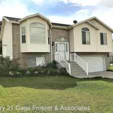 Rental info for 891 W 1350 N in the Clinton area