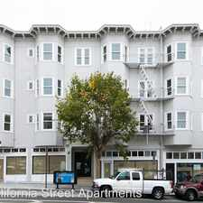 Rental info for 1507 California Street in the Lower Nob Hill area