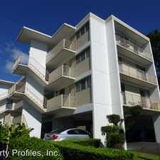 Rental info for 1830 PUNAHOU STREET in the Makiki - Lower Punchbowl - Tantalu area