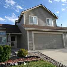 Rental info for 5143 Prairie Grass Lane in the Stetson Hills area