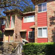 Rental info for 5502 15th Avenue Northeast in the Seattle area