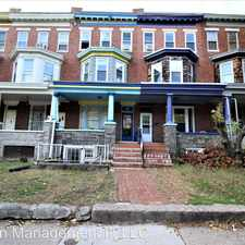 Rental info for 2918 Guilford Ave. # 2 in the Charles Village area