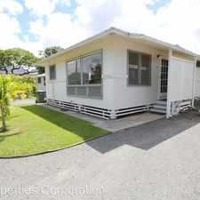 Rental info for 45-248 William Henry Road #A in the Kaneohe area