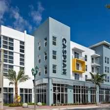 Rental info for Caspian Delray Beach