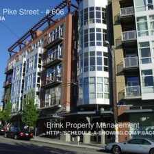 Rental info for 303 E Pike Street in the First Hill area