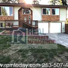 Rental info for 2610 211th Ave E in the Bonney Lake area
