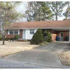 Rental info for 1105 Harlie Avenue in the Norfolk area