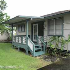 Rental info for 45-455 Ihilani Street - A in the Kaneohe area