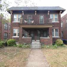 Rental info for 4935 Magnolia Avenue #A in the St. Louis area