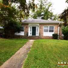 Rental info for 1606 Chickasaw Road