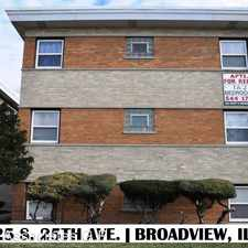 Rental info for 2125 S 25th Ave # 2W in the Maywood area
