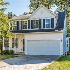 Rental info for 325 Montpelier Ct